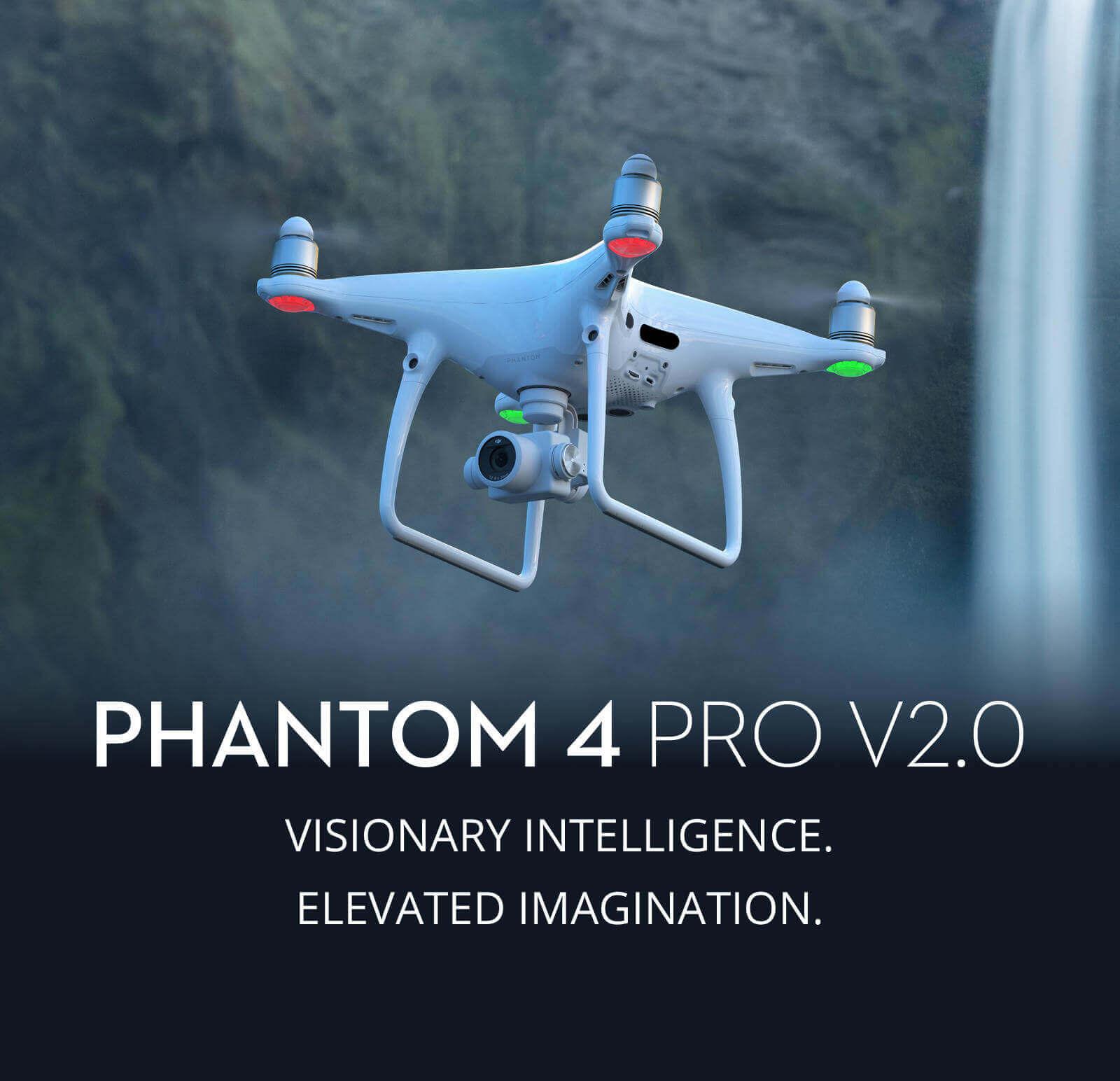 DJI Pantom 4 Pro v2 Banner